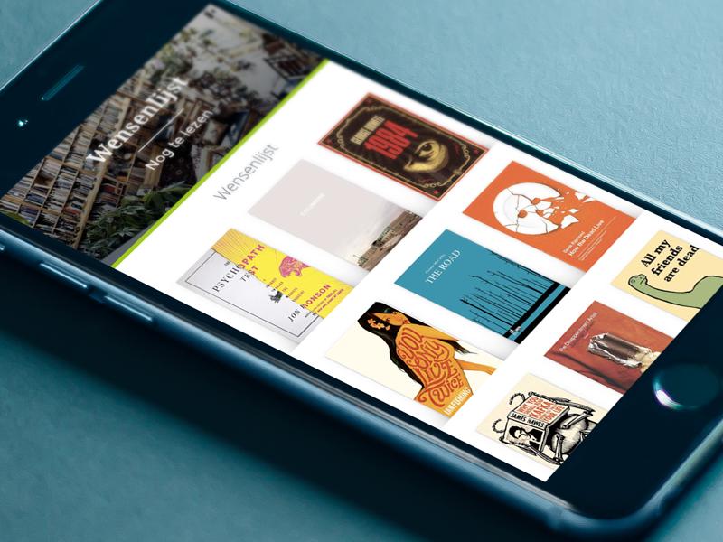 Book Wishlist sketch book flow cover list mobile app wishlist ebook books