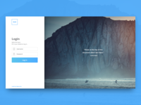 Default Login Template sign in login mendix signup signin mockup default template dynamic basic neutral