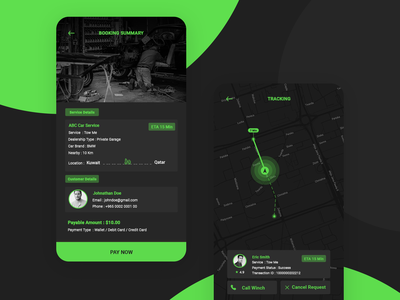 Car Service App !!