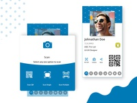 Contacts Sharing App Concept