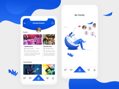 Family App : Illustrations