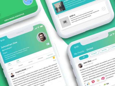 Social Networking App Concept