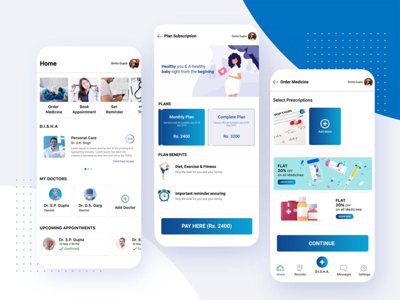 Medical App appointmentdetail mobile application illustrations techugo application design appdesign appointmentapp doctor appointment medicalapp patientapp doctorapp ui  ux ui mobile app