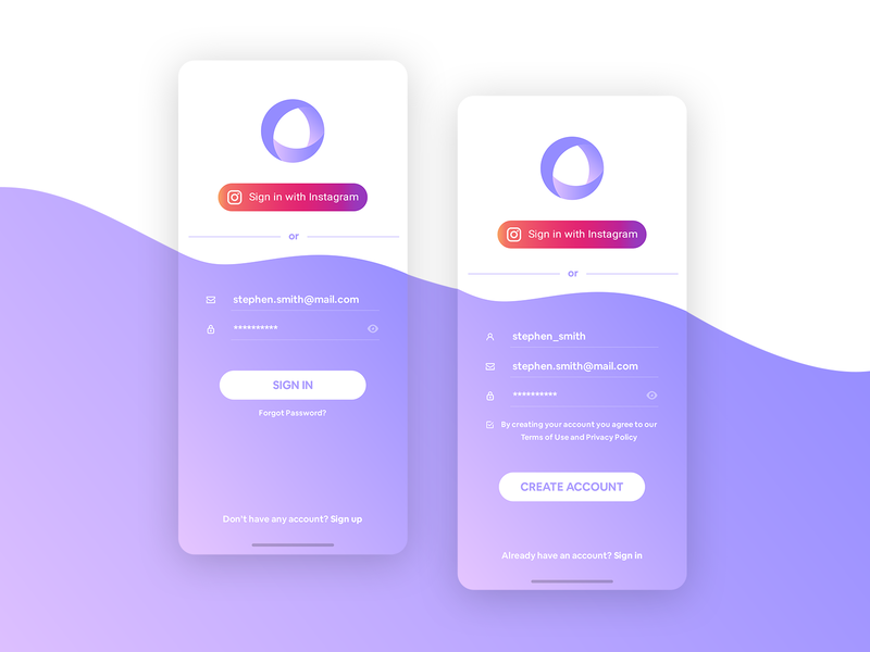 On boarding Screen signupform login design login screen login form login page uiux uiuxdesign registration login ui mobile ui design onboarding ui onboarding screens signup login uxdesign application design app ui