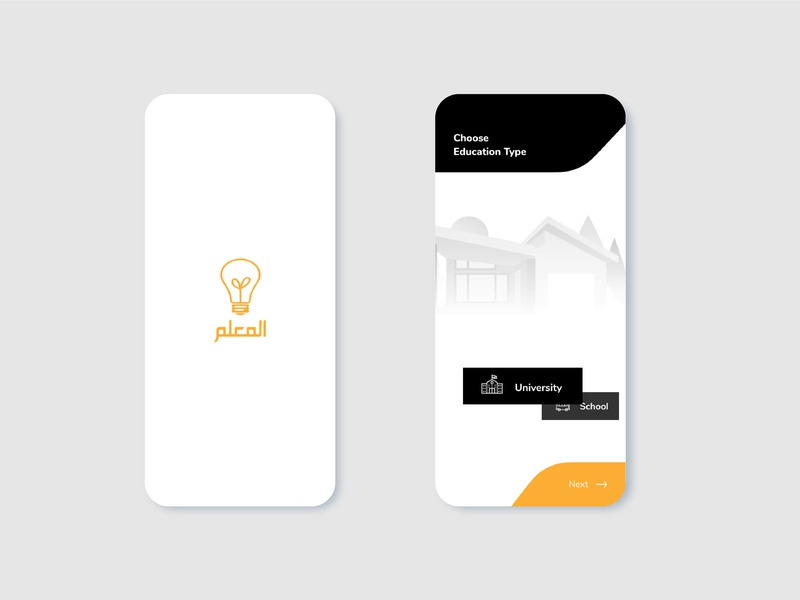 An Education - Tutor App education app tutor booking app app design ux ui