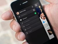 Sidebar - Social App
