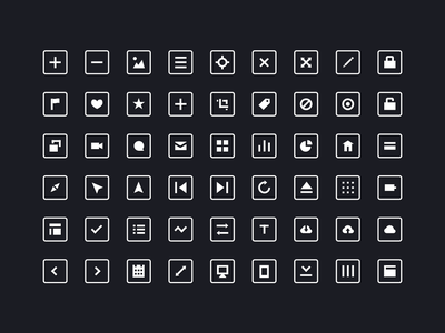 54 Free Squared Icons! app icon mailbox iphone psd long shadow mail ios7 ui feed flat