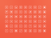 54 Free Squared Icons!