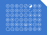 48 Rounded Icons - Get 'em!