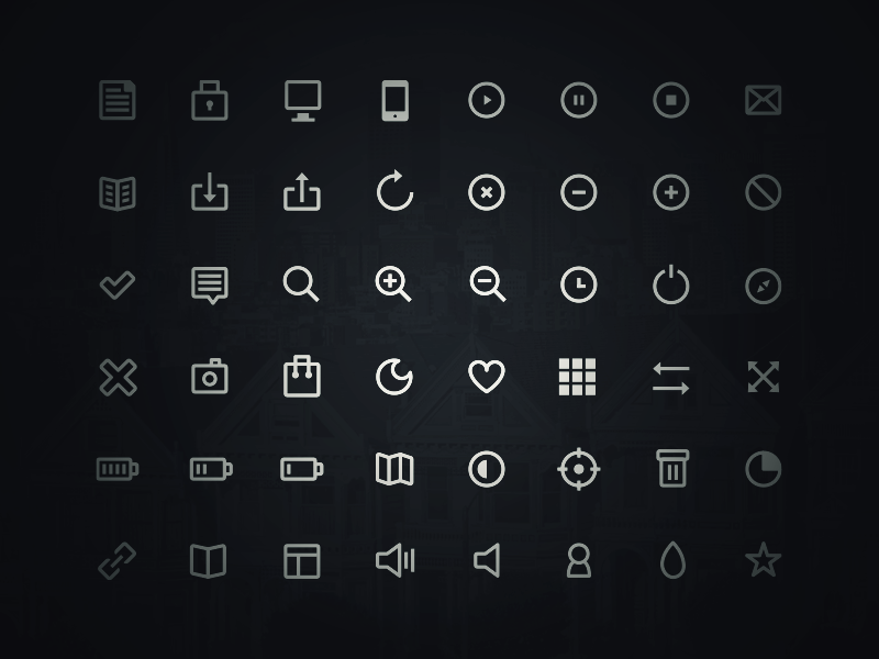 48 Free Icons - Get them! icons psd weather app ios7 flat clean ui rounded download mockup freebie