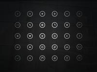 Free Circle Icons (vol2)