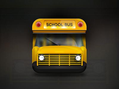 Dribbble shot school bus designer robin kylander