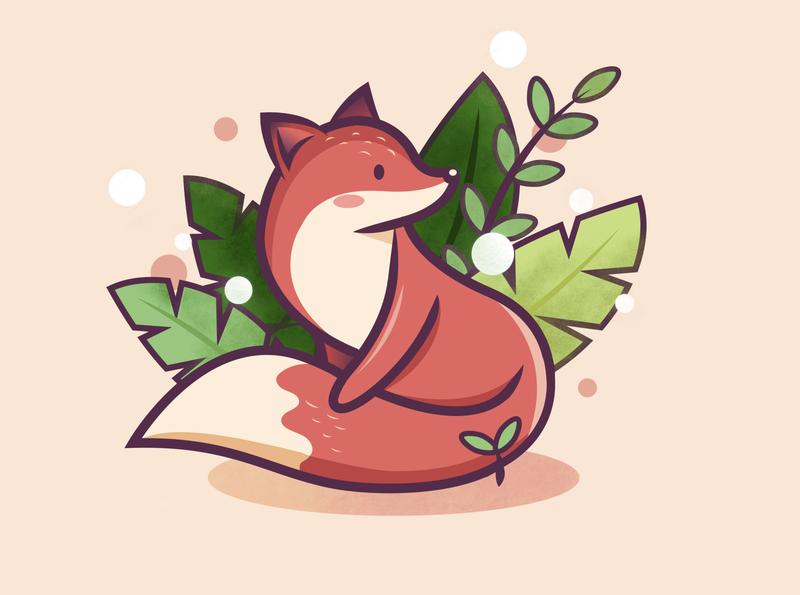 Animal Fox animal illustration