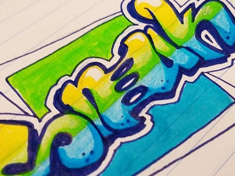 graffiti doodle by felix jaimes dribbble dribbble