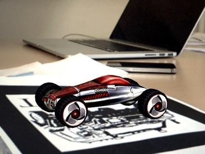 AR Racing game ar