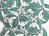 Roscoe Sticker