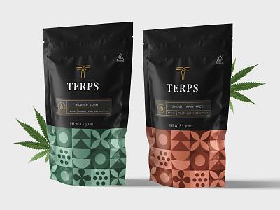 Marijuana Packaging packaging dispensary marijuana colorful logo icons package design pattern branding