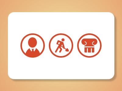 Custom Orange Icons
