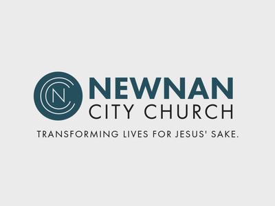 Newnan City Church Logo brand mark design branding logo church