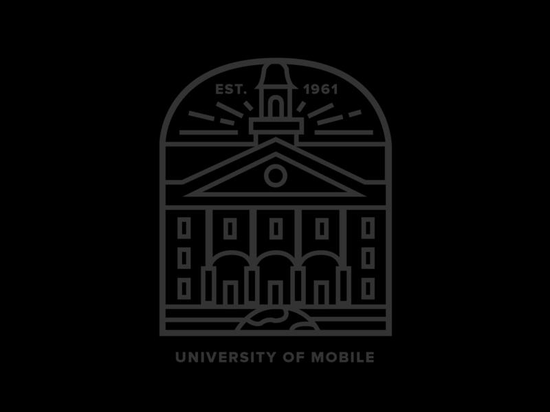 University of Mobile Shirt Design icon t-shirt design t-shirt brand illustration graphic graphic design design illustrator illistration