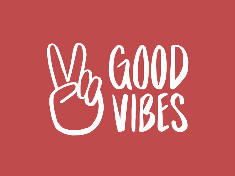 Good Vibes good vibes weekend typography vector graphic illustrator illustration graphic design design