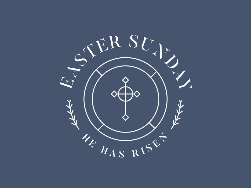 Happy Easter! easter icon typography logo design vector illustrator graphic illustration graphic design design