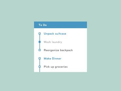 Daily UI - To Do List