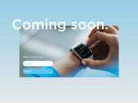 Daily UI - Coming Soon