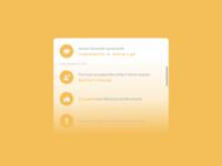 Daily UI - Activity Feed