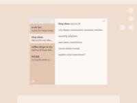 Daily UI - Notes Widget