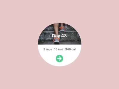Daily UI - Workout of the Day