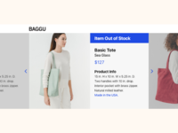 Daily UI - Out Of Stock