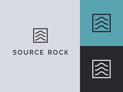 SourceRock Logo oil and gas logo design logo identity design branding design branding