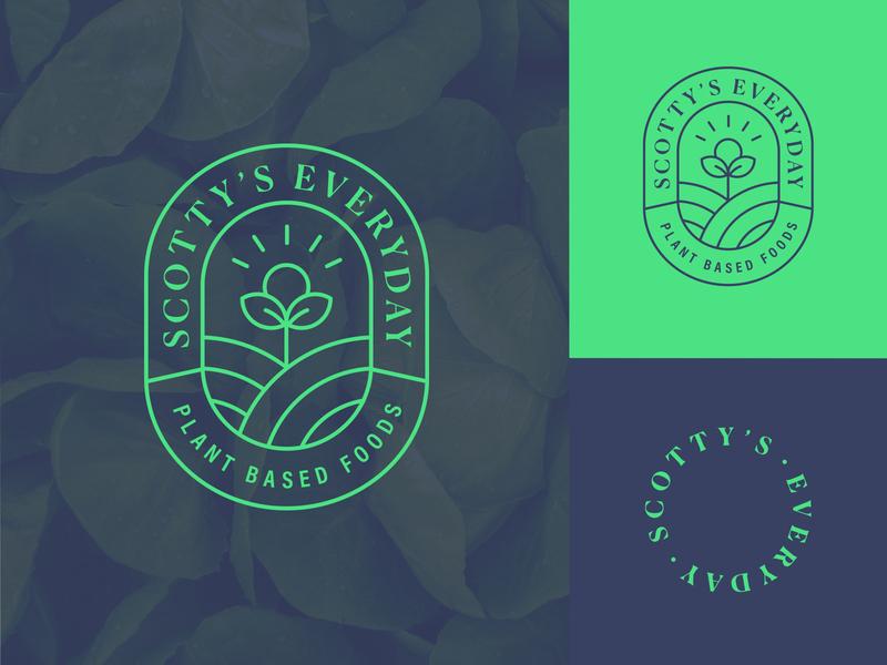 Healthy Foods Brand Logo logo design branding design logo branding