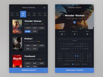 Movie Ticket Reservation UI