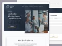 Business Communication Website Design