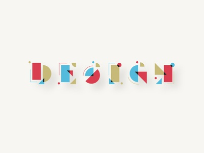 Abstract Letterforms typeface letterforms design typography