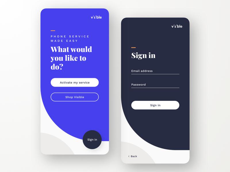 App Sign In sign in ui sign in ui app design uiux design uiux ui design