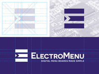 ElectroMenu Logo Development & Design