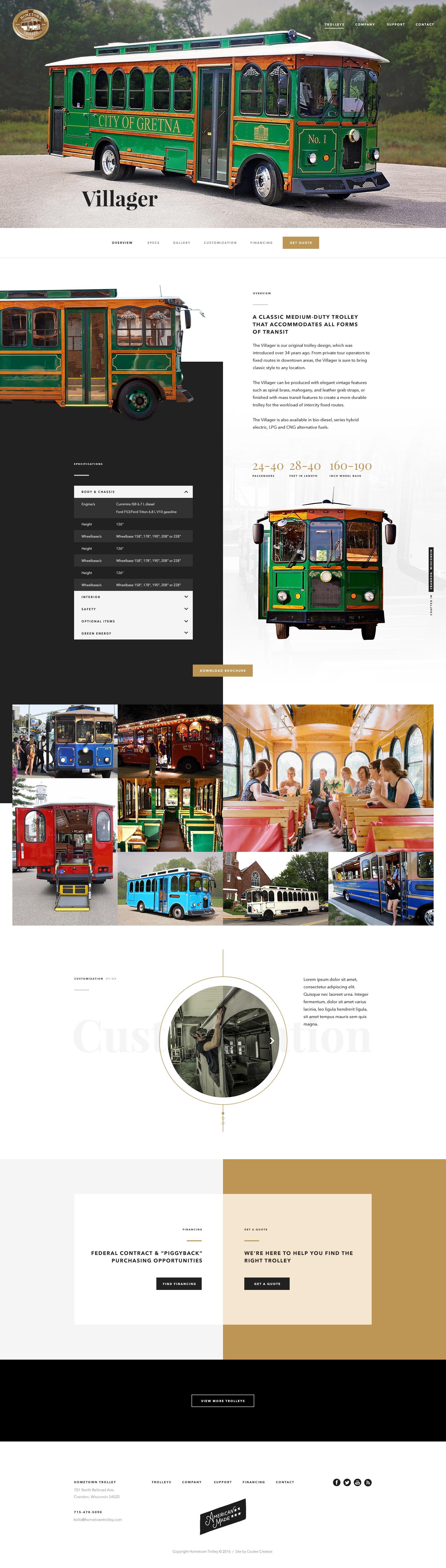 Villager trolley