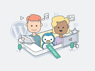Content Paywall illustration
