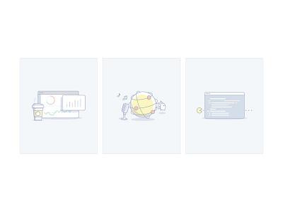 Service illustrations illustration