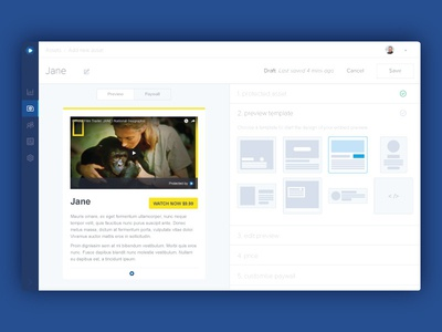Edit your asset view ui dashboard