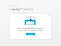 dailyui 016/100 Pop-Up / Overlay