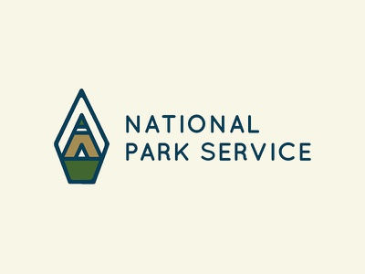 NPS Logo Rebrand nps national park service combination mark logo mark logotype identity design corporate identity logo design logo branding