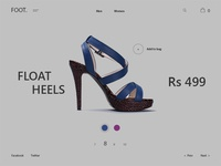 Footwear - Product Page