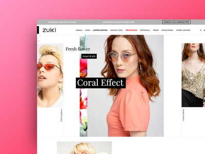 New Zuiki E-commerce UX/UI Homepage ui ux design e-commerce