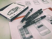 Conept Sketches Native IOS App