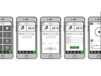 Wireframes for native IOS app