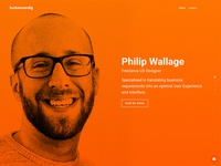 Freelance UX Design Website